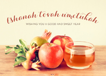 A Good and Sweet Year Rosh Hashanah Cards